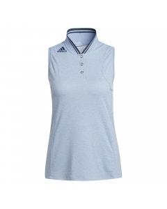 Adidas Women's Heat.RDY Sleeveless Polo - Ambient Sky