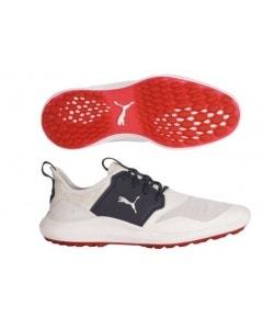 Puma Mens Ignite NXT Wide Shoe - White/Silver/Peacoat