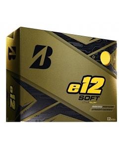 Bridgestone e12 Soft Golf Balls - Yellow