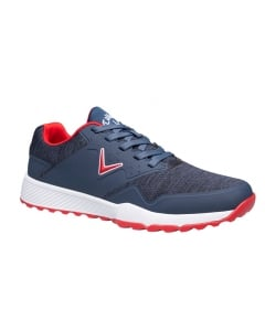 Callaway Chev Ace A Golf Shoe - Navy/Red/Heather