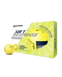 TaylorMade 2020 Soft Response Yellow Golf Balls