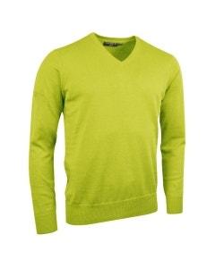 Glenmuir Eden Cotton Golf Sweater - Lime Green