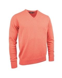 Glenmuir Eden Cotton Golf Sweater - Coral