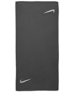 Nike Caddy Golf Towel - Dark Grey/White