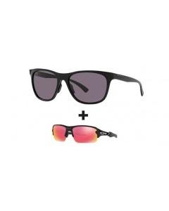 Oakley Leadline Glasses and Oakley Junior Flax XS Package