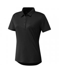Adidas Womens Performance Primegreen Polo - Black