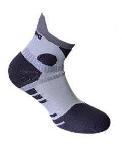 Spring Unisex Performance Short Sock - White/Grey/Black