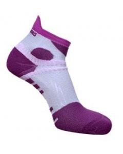 Spring Unisex Performance Short Sock - Purple/Pink/Grey