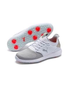 Puma Ignite PWRADAPT Caged Wide Shoe - White/Grey