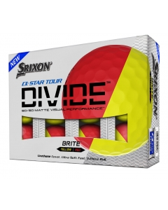 Srixon Q Star Tour Divide - Red/Yellow