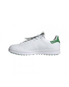 *Adidas Stan Smith Golf Shoes - White/Green/White