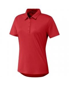 Adidas Womens Performance Primegreen Polo - Red