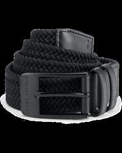 Under Armour Men's Braided 2.0 Belt - Black