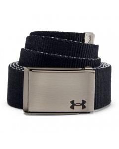 *Under Armour Men's Reversible Webbing Belt - Black/Grey