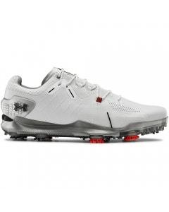 Under Armour Spieth 4 GTX Golf Shoes - White/Silver