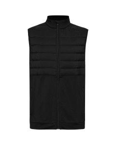 Sporte Leisure Mens 1/2 Puff Vest - Black