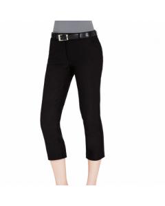 Sporte Leisure Ladies Stretch Tech 3/4 Trouser - Black
