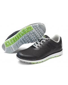 GolfCraft Supersport III Spikeless Golf Shoes - Black/Grey