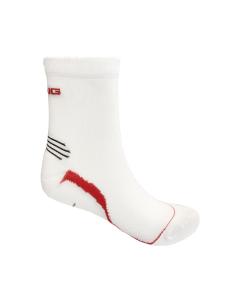 Spring Unisex Extra Light Socks - White/Red