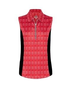 Sporte Leisure Women's Sleeveless Jacki Polo - Spice