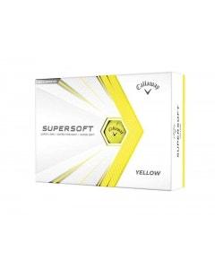 Callaway 2021 Supersoft Golf Balls - Yellow