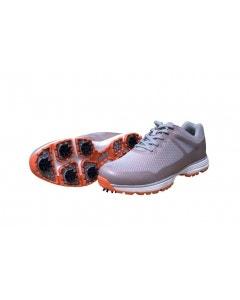 GolfCraft Supersport III Golf Shoe - Grey/Orange