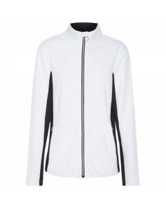 Sporte Leisure Womens Embossed Jacket - White
