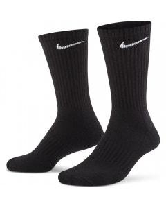 Nike Everyday Cushion Crew 3 Pack Socks - Black/White