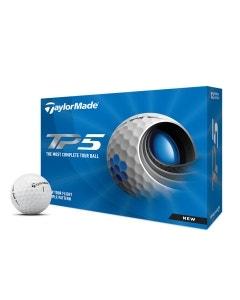 TaylorMade 2021 TP5 Golf Balls - 12pk