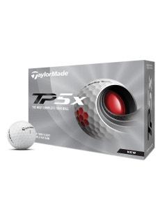 TaylorMade 2021 TP5x Golf Balls - 12pk