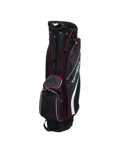 Trident Galaxy II Cart Bag - Black/Red