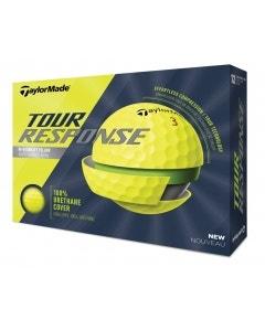 TaylorMade 2020 Tour Response Yellow Golf Balls