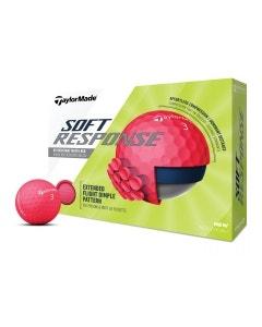 TaylorMade 2020 Soft Response Red Golf Balls