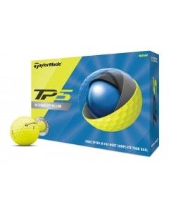 TaylorMade 2020 TP5 Yellow Golf Balls
