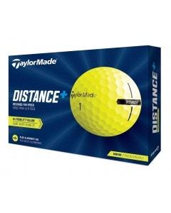 TaylorMade 2021 Distance+ Golf Balls - Yellow