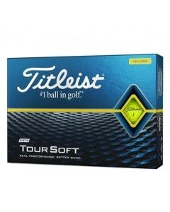 Titleist 2020 Tour Soft Golf Balls - Yellow