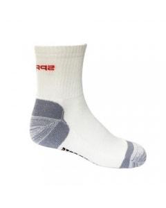 Spring Unisex Comfort Socks - White/Grey