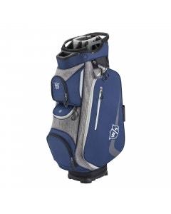 Wilson Staff Xtra II Cart Bag - Navy/Grey