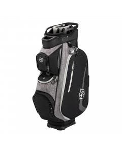 Wilson Staff Xtra II Cart Bag - Black/White