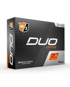 Wilson Staff Duo Optix Orange Golf Balls