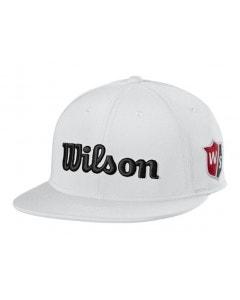 Wilson Staff Tour Flat Brim Cap - White