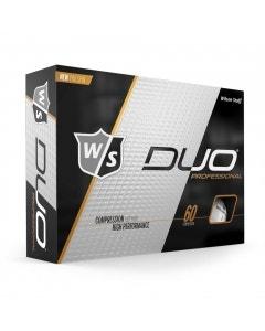 Wilson Staff Duo Professional White Golf Balls