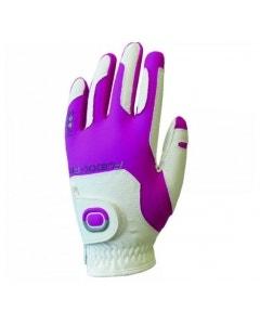 Zoom Weather Womens Glove - White/Fuschia