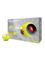 TaylorMade 2021 TP5x Yellow Golf Balls - 12pk