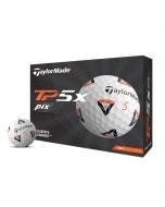 TaylorMade 2021 TP5x Pix 2.0 Golf Balls - 12pk