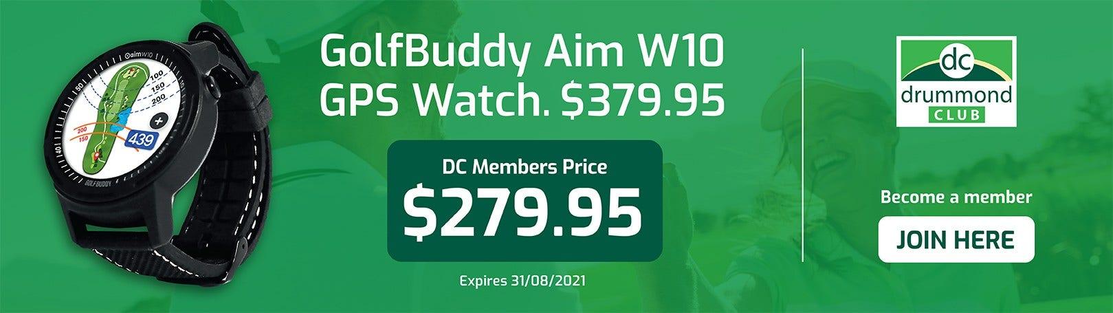 Golfbuddy DC Deal